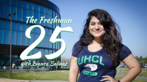 The Freshman 25 with Bianca Salinas, The Signal blogger and social media community manager.