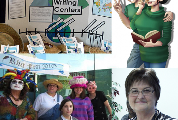 Writing Center collage