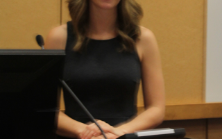 Molly Shireman at Autism Speaker Series