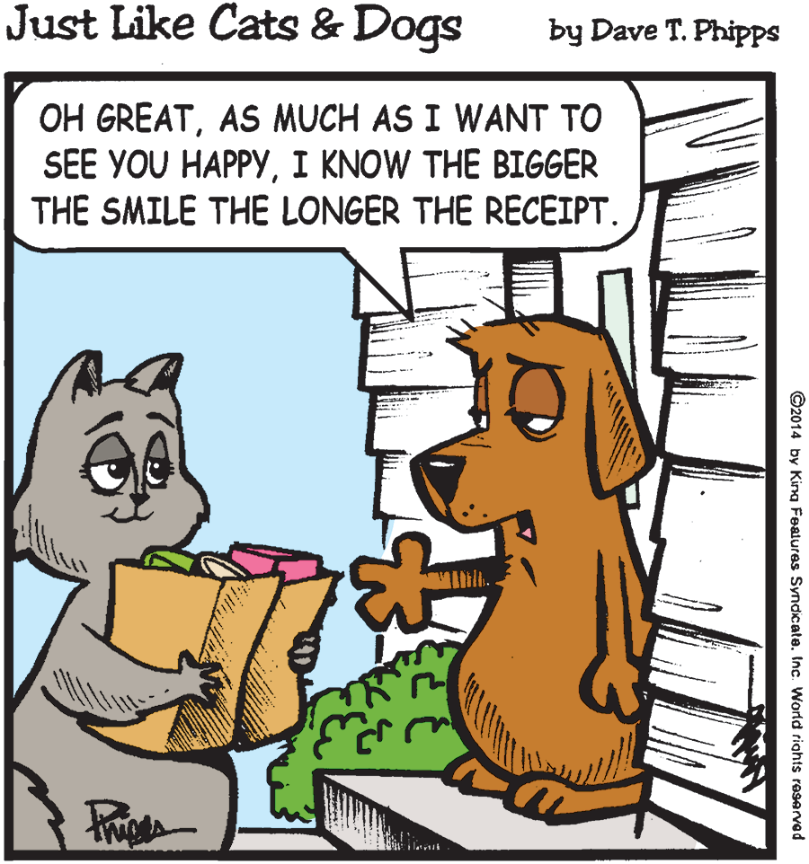 Just Like Cats and Dogs cartoon \u2013 UHCL The Signal
