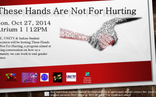 DVAM: These hands are not for hurting flyer