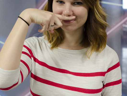 The Signal reporter Sydney Meyer