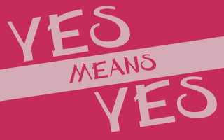 Yes means yes
