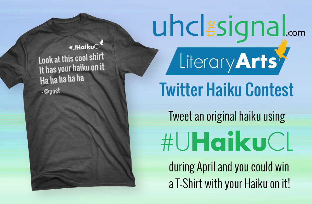 Celebrate National Poetry Month with the #UHaikuCL Twitter Haiku Contest