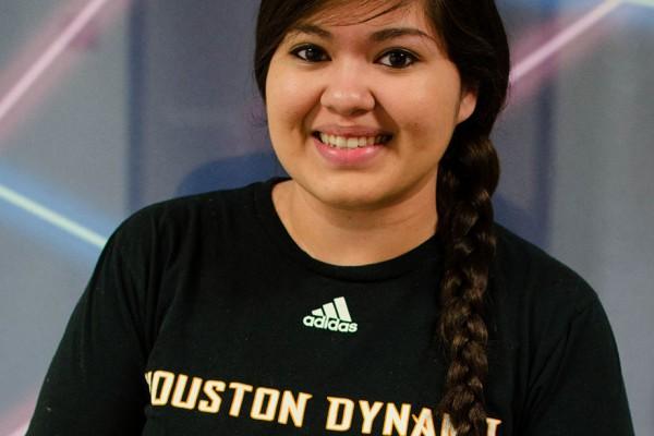 The signal reporter Jeannette Jimenez