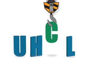 Graphic: Three dimensional UHCL letters under construction. Graphic created by The Signal reporter Kyle Upton.