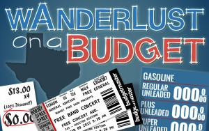 GRAPHIC: Wanderlust on a budget blog series photo. Graphic by The Signal Managing Editor Dave Silverio.