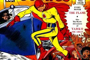 Photo: Digital Comic Museum Publishing the Cover of Wonderworld Comics #3.