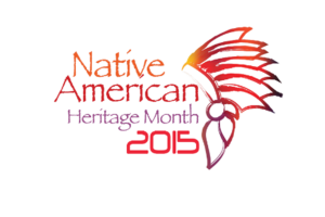 Image: Native American Heritage Month 2015 logo. Image courtesy of UHCL Intercultural Student Services.