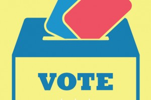 Graphic: Voting ballot box. Graphic created by The Signal Managing Editor Dave Silverio.