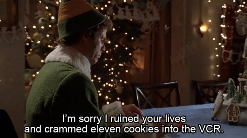 Elf movie quote