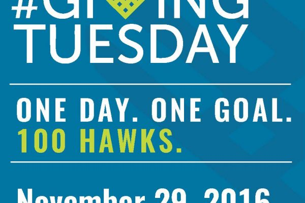 Support UHCL scholarships on #GivingTuesday. Image courtesy of office of university communications