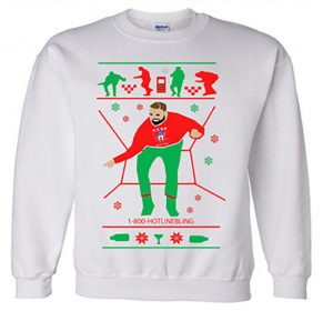 Drake holiday sweater