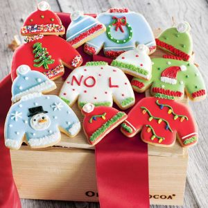 Sweater cookies by Olive & Cocoa