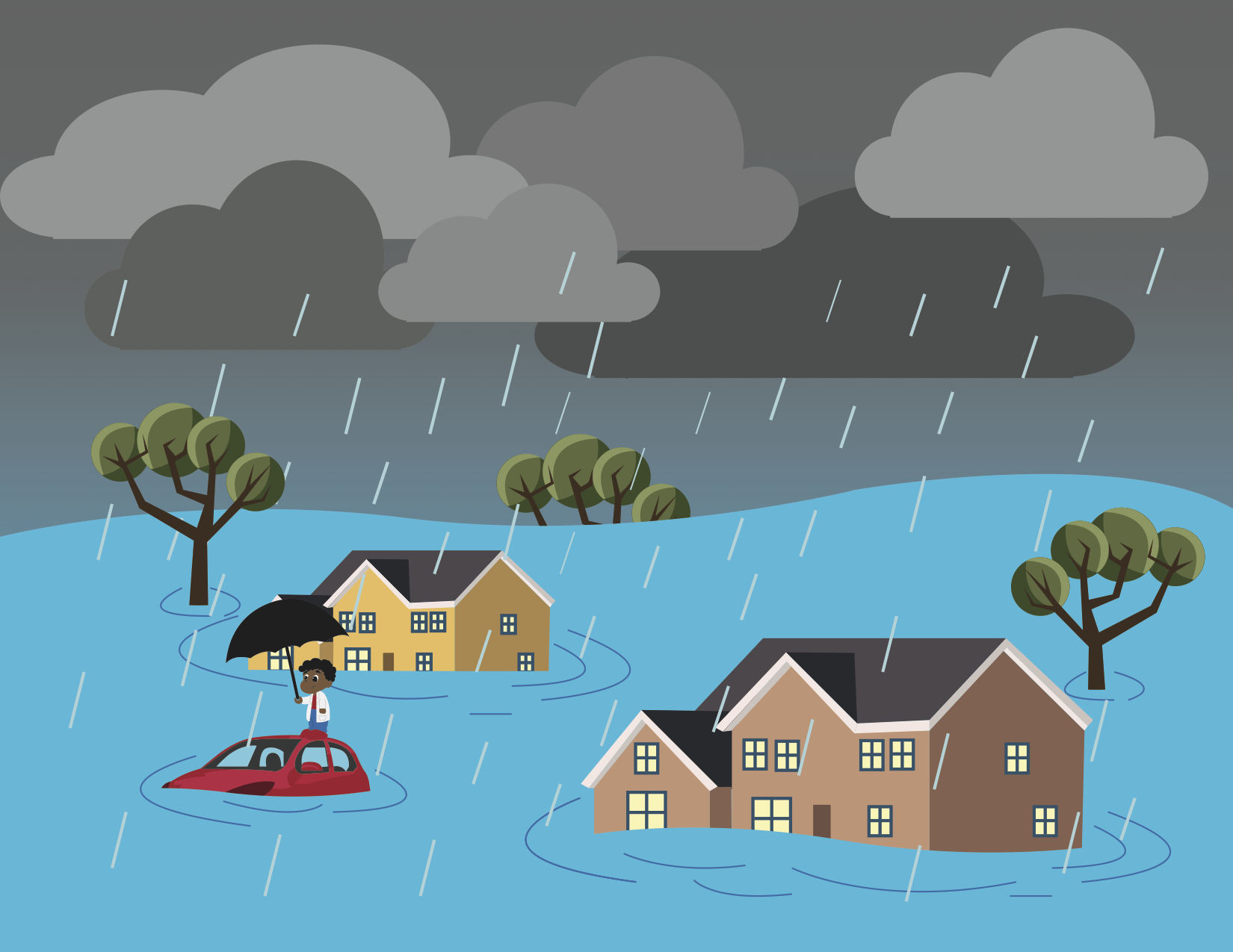 editorial the frequent flooding in houston needs to be clipart drowning woman drowning clipart black and white