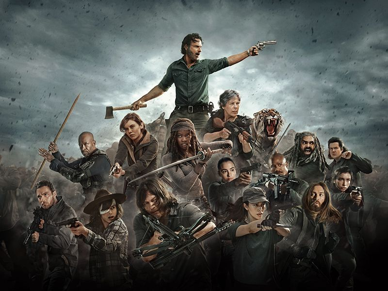 Photo Promotional Photo For The Walking Dead Season  Photo Courtesy Of